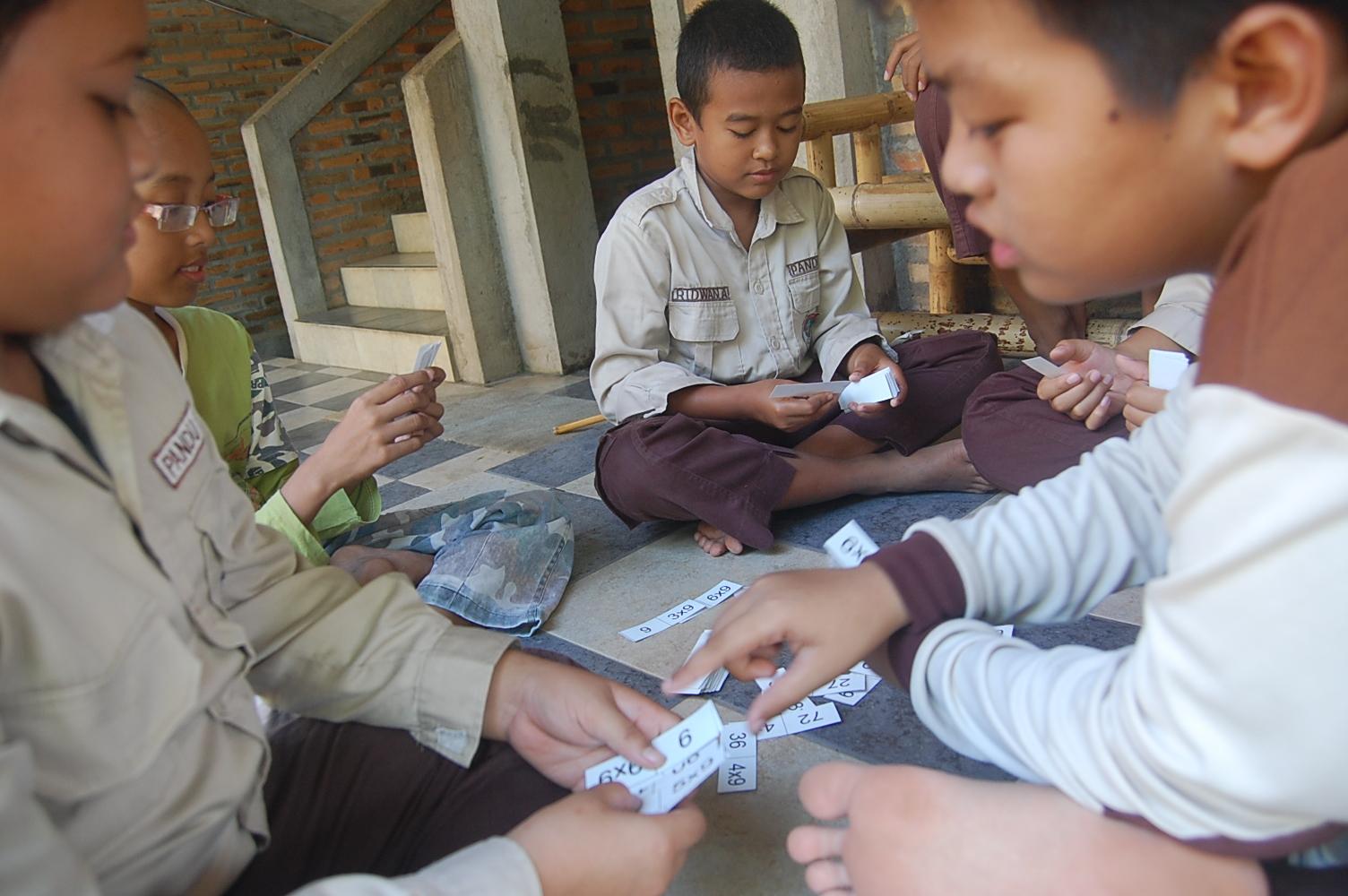 Kwartet Bahasa Sekolah Alam Jogja